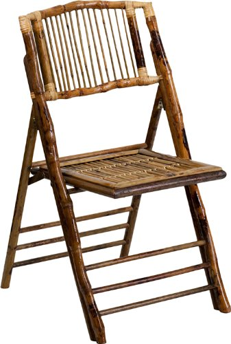Ordinaire Flash Furniture American Champion Bamboo Folding Chair