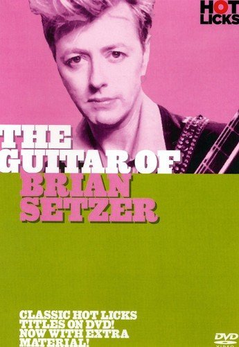 Fender Home & Office 0995501066 Brian Setzer Hot Licks DVD Music Staff Paper