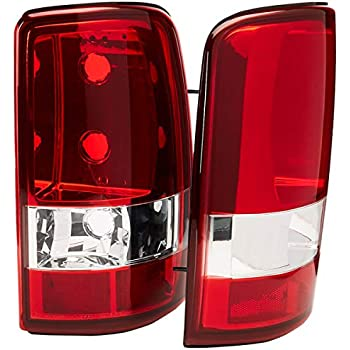 Spec-D Tuning LT-DEN00G2RPW-TM Gmc Yukon Denali/Chevy Tahoe Red Tail Lights