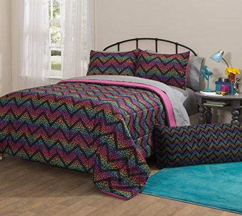 Pop Shop WK679888 Ombre Cheetah Bed in A Bag Comforter Se...