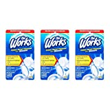 toilet chlorine tabs - The Works Toilet Bowl Cleaner with Bleach Tablet, 3.5 oz (pack of 3)