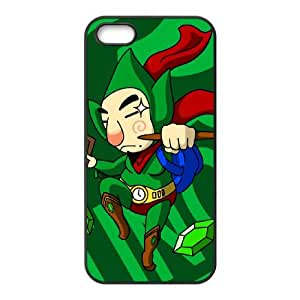 iPhone 5 5s Cell Phone Case Black The Legend of Zelda The Wind Waker TingleSLI_846039