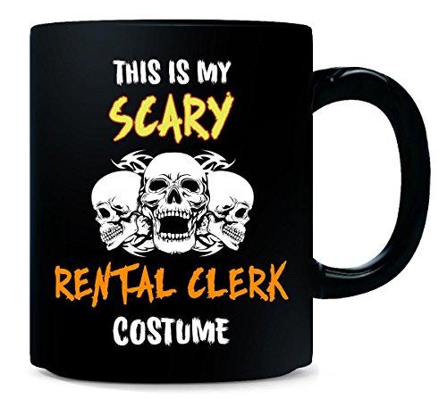 This Is My Scary Rental Clerk Costume Halloween Gift - Mug ()