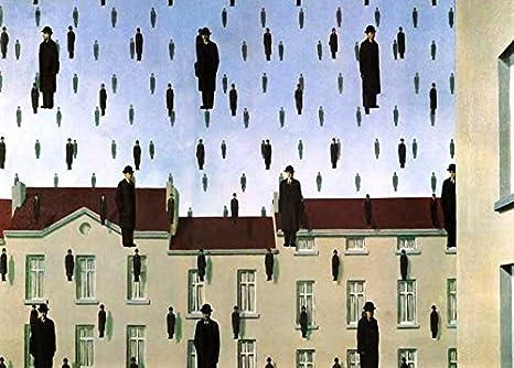 42 Poster cm 50X70 Poster Stampa Digitale Grafica dArte Gicl/ée Alta Definizione Galleria papiarte Magritte Art
