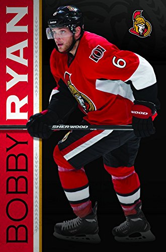 Ottawa Senators Helmet - Trends International Ottawa Senators - Bobby Ryan Premium Wall Poster 22.375
