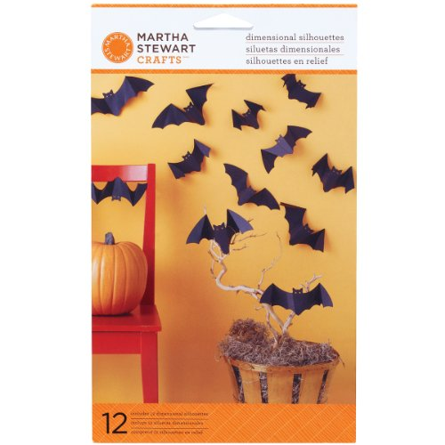 Martha Stewart Crafts Dimensional Silhouette Bat