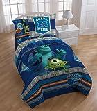 monsters inc bedding set twin - Disney/Pixar Monster University Scare-Care Comforter Set, Twin