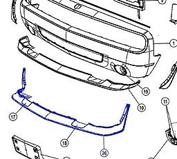 Genuine  Chrysler (68043390AA) Air Dam, Front