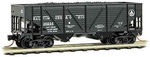 Micro-Trains MTL N-Scale 2-Bay Coal Hopper/Load Baltimore & Ohio/B&O #30244