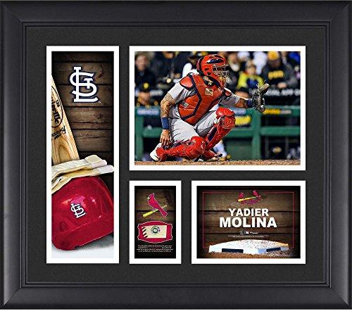 (Yadier Molina St. Louis Cardinals Framed 15