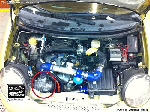 GOWE Turbocompresor para coche motos ATV Mini raíces Supercharger Kompressor Turbocompresor turbina Compresor soplador Booster 0.5 - 1.5L Aisin amr300: ...