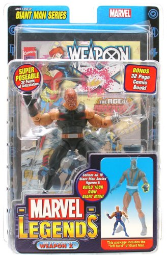 Marvel Legends Giant Man Series - Weapon X Burned Head Variant Figure - Wal-Mart Exclusive