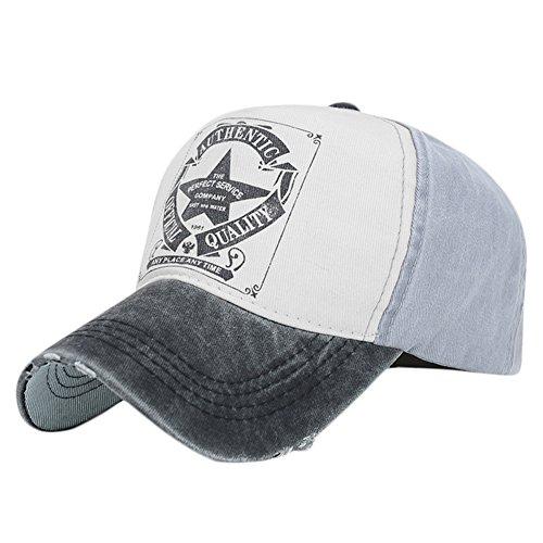 Vintage Baseball Cap Outdoor mütze (Black)