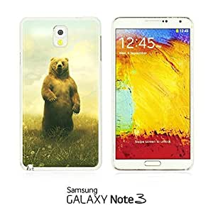 OnlineBestDigital - Cartoon Pattern Hard Back Case for Samsung Galaxy Note 3 N9000 - Yellow Bear