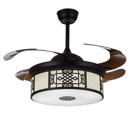 Luz del ventilador de techo 50 cm lámpara de Techo lámpara ...