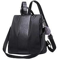 Womdee College Backpack for Women, Spacious Laptop Backpack Waterproof Nylon School Bags Ladies Dayback Shoulder Bags Handbag Rucksack Shoulder Bags for Trip/Hiking/College/Street