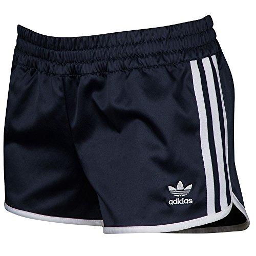 adidas Originals Women's Bottoms Slim Shorts, Black, (Adidas Retro Shorts)