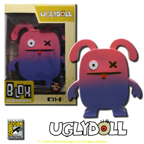 (Ugly Doll - OX - Funko Blox Vinyl Figure - Rare SDCC Exclusive!)