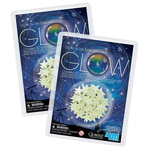 Glow Dark 100 Mini Stars