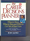 The Career Decisions Planner, Joan Lloyd, 0471547336