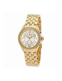 Michele Belmore Chronograph White Dial Ladies Watch MWW29B000009
