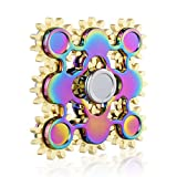 FengNiao Metal Rainbow fidget Tri-Spinner with Ultra Durable Stainless Steel ...