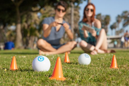 Sphero iOS and Android App Controlled Robotic Ball - Retail Packaging - White (Discontinued by Manufacturer) by Sphero (Image #4)