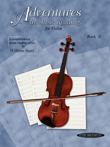 Adventures in Reading Music Book 2 for Violin by William Starr. Published by Alfred Music Publishing