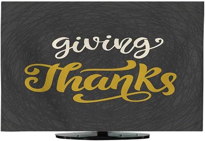 Miki Da Etiqueta de caligrafía Vector de Turquía Give Thanks: Amazon.es: Hogar