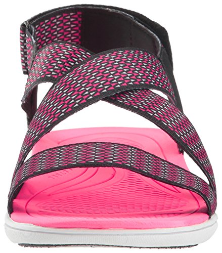 Belmar Women's Grey Sandal Black Ryka Athletic zSqx5T