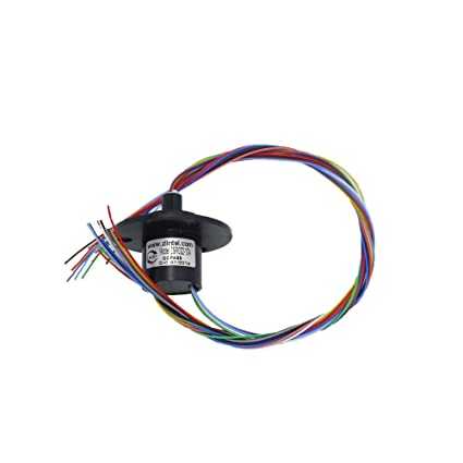 Amazon.com: Holdding 12 Wires 2A 12 Conductors Capsule Slip Ring ...