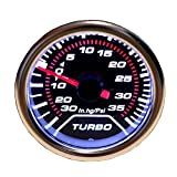 "Etopars™ Car Motor Universal Smoke Tint Tint Len 2"" 52mm Psi Turbo Indicator Boost Bar Gauge Meter"