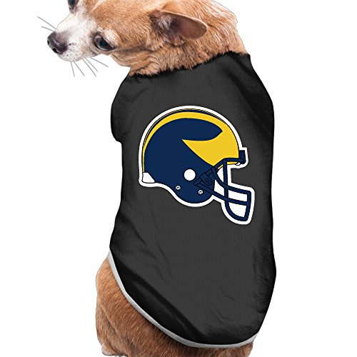 Michigan Wolverines Cute Pet Dog Puppy Clothes Shirt