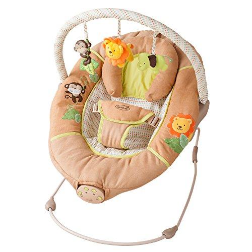 Summer Infant Sweet Comfort Musical Bouncer, Swingin' Safari