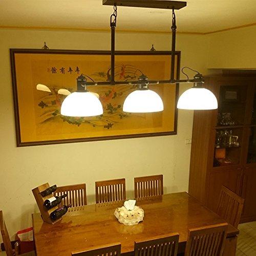 CNMKLM American Retro drei Dörfer industrial iron works Kronleuchter Tischleuchte Studio droplight ball Zimmer 1200*630mm