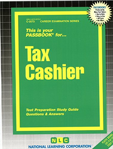 Which is the best tax cashier book?