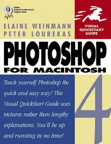 Photoshop 4 for Macintosh (Visual QuickStart Guide) by Elaine Weinmann (1997-01-15)
