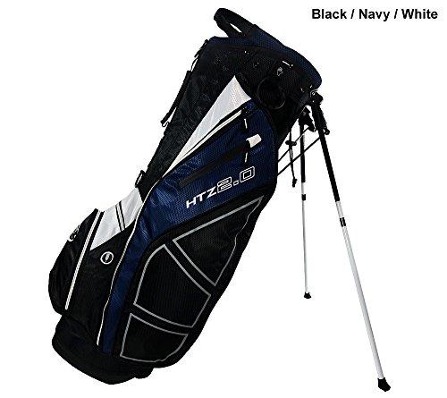 New Hot-Z Golf 2.0 Stand Bag Black/Navy/White