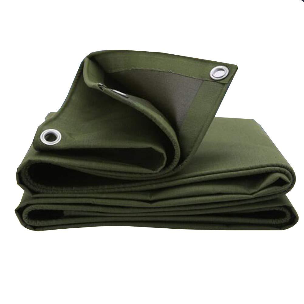 MuMa Plane Verdicken Regenfest Wasserdicht Sonnencreme Beständig Mühle Schatten Segeltuch (Farbe   Armeegrün, größe   1.5  2m)