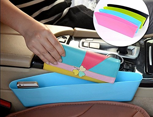 JH Console Side Pocket for carCreative Car Seat Crevice Storage Box