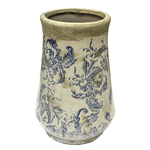 Sagebrook Home Kylie Floral Table Vase