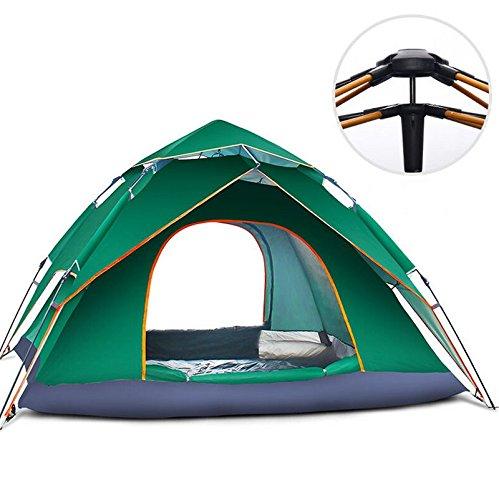 Strand-Sonnenschutz-Zelt 3-4 Leute Kampierendes Automatisches Faltendes Zelt Im Freien