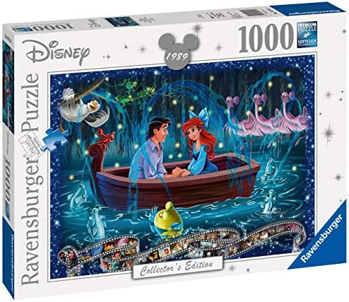 Ravensburger Disney Collector/'s Edition Little Mermaid 1000pc Jigsaw Puzzle