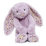 Jellycat Blossom Jasmine Bunny Stuffed Animal, Medium, 12 inches
