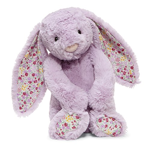 (Jellycat Blossom Jasmine Bunny Stuffed Animal, Medium, 12 inches)