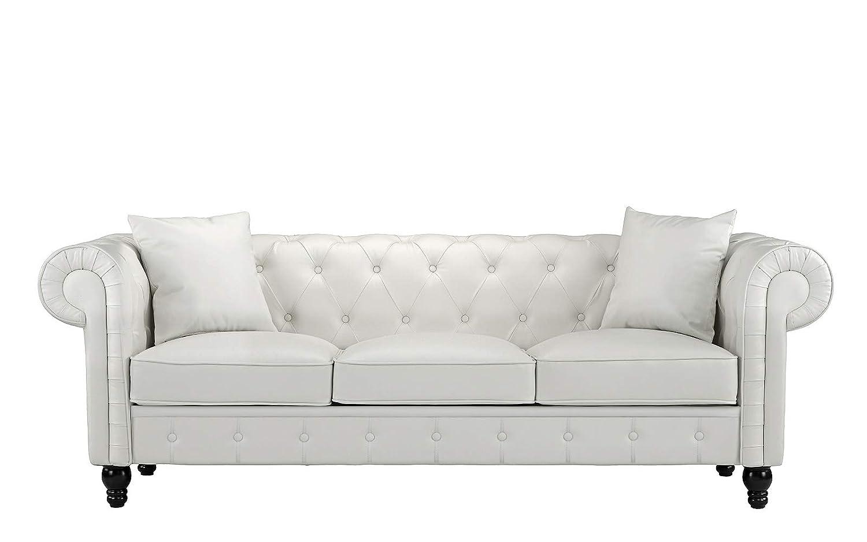 Amazon.com: Divano Roma Furniture Classic - Sofá ...