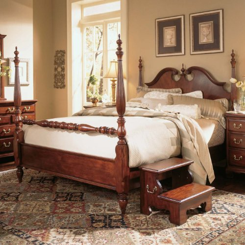 American Drew Cherry Grove Poster Bed - King American Drew Bed