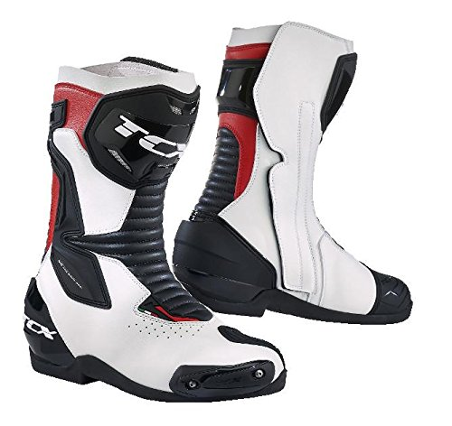 TCX BOOTS SP-MASTER AIR, ホワイト/ブラック/レッド, サイズ:43 | 7666-BNRO-43 B07588L61C  EU43/US9