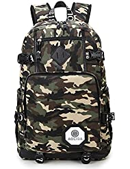 Camo School Backpacks Shoulder Bags for Teens Girls Boys Sports Travel Daypack