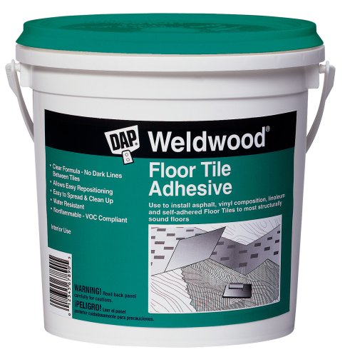 Dap 00136 Weldwood Floor Tile Adhesive, 1-Quart